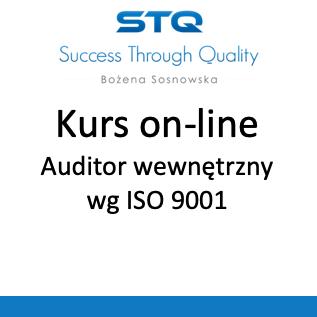 Kurs na auditora i księga jakości online