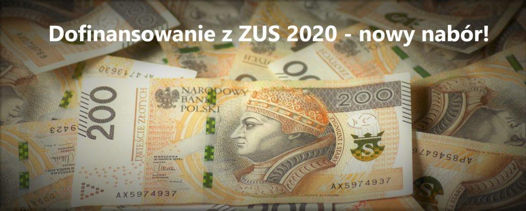 Dofinansowanie z ZUS 2020
